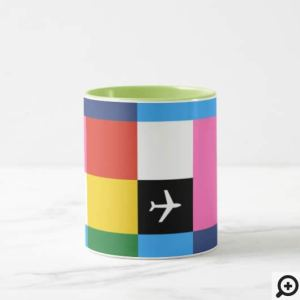 Groovy Jet-Age Multi-Full-Color Mug