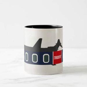 Jet Age Trident Airliner Mug