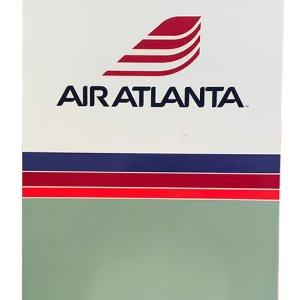 Air Atlanta U.S. Letter Paper Folder 1980s