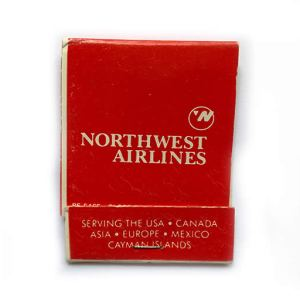 Northwest Airlines Matchbook Matches