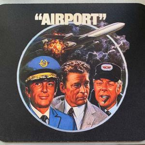 Defective Mouse Pad Print – Airport Movie