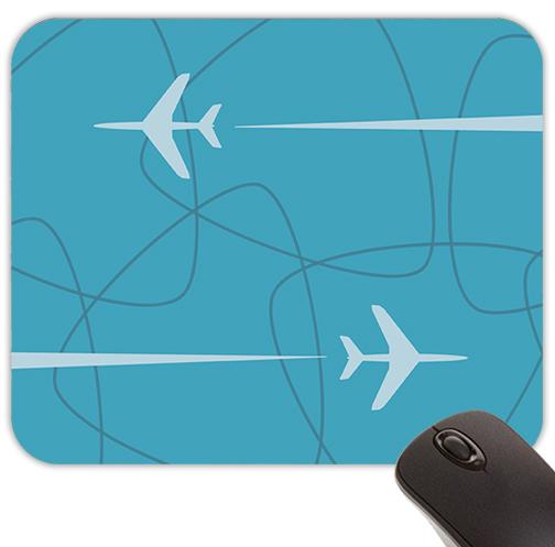 Mid-Century Retro Jet-Age Mouse Pad