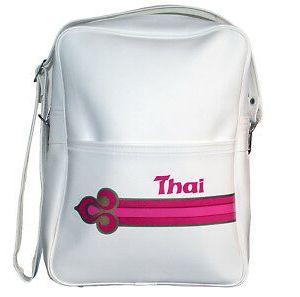 Thai Airlines Travel Shoulder Bag 1980s