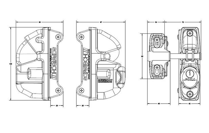 Key locking Gate Lock – SafeTech Viper Gravity Lock