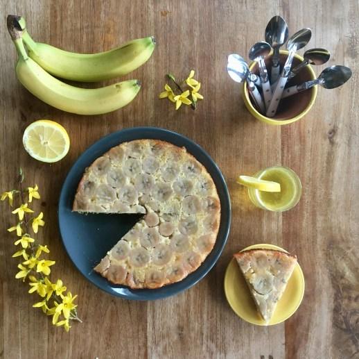 Tatin banane citron