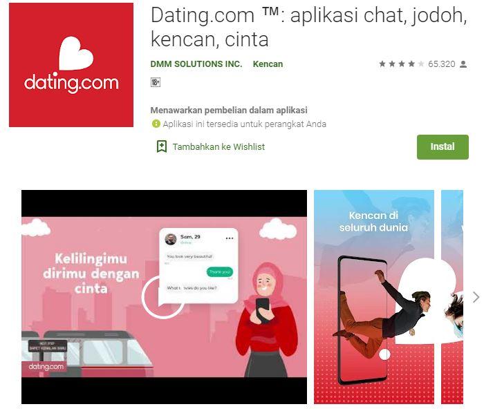 Dating.comTM Aplikasi chat, jodoh, kencan, cinta