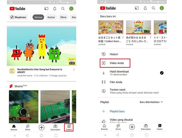 Upload Video Youtube dari HP