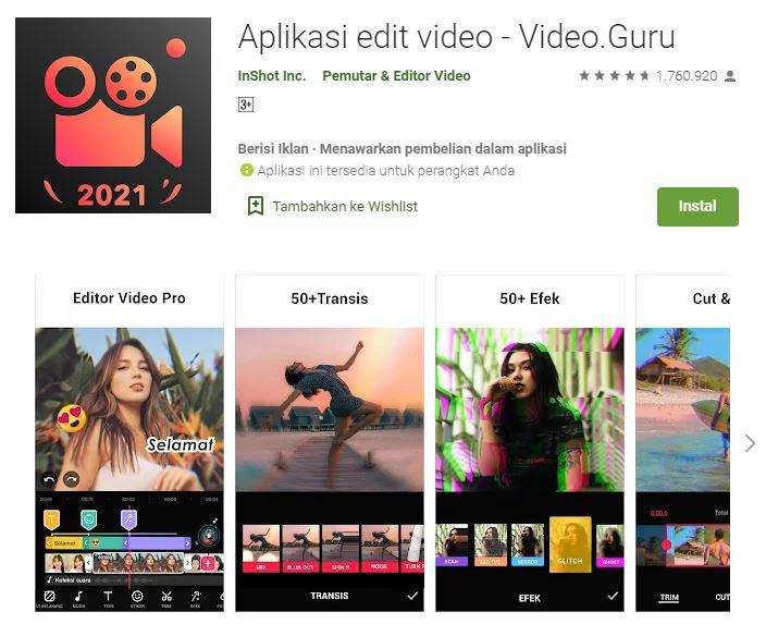 Video.Guru – Aplikasi Edit Video