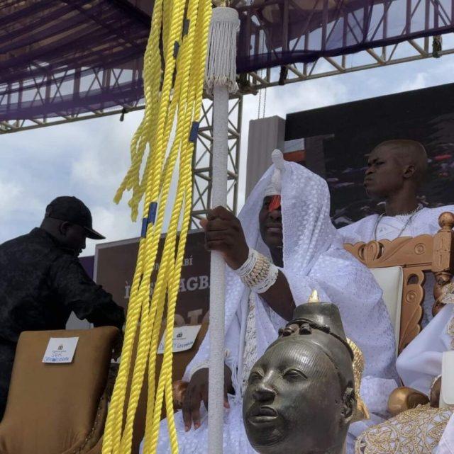 PHOTOS: Annual Olojo Festival Holds In Ile-Ife