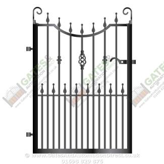 Metal Path & Garden Gates