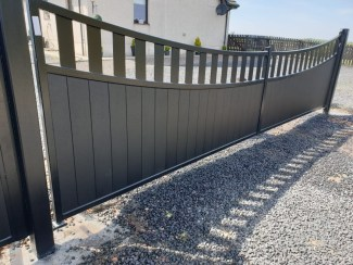 Aluminium Driveway Gates