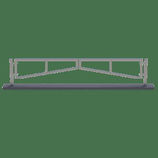 twin swing car park traffic barrier manual