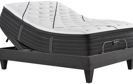 beautyrest black l class plush pillow top mattress