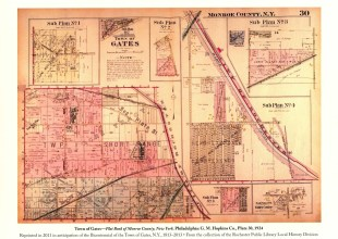 Thumbnail for the post titled: Gates Map 1924