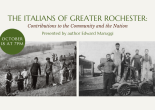 Thumbnail for the post titled: October Program: The Italians of Greater Rochester