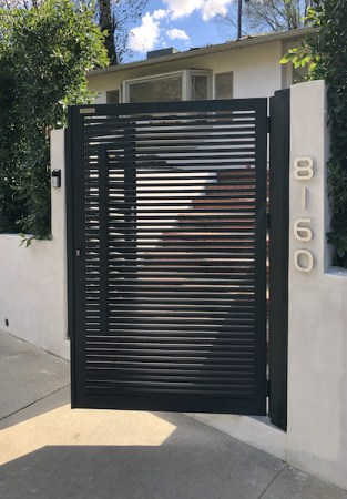 , April's Gate of the Month Safeguards Hollywood Hills Family