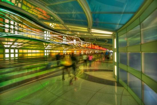 United Terminal at O'Hare Airport