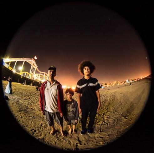 Guys I met at the Santa Monica Pier