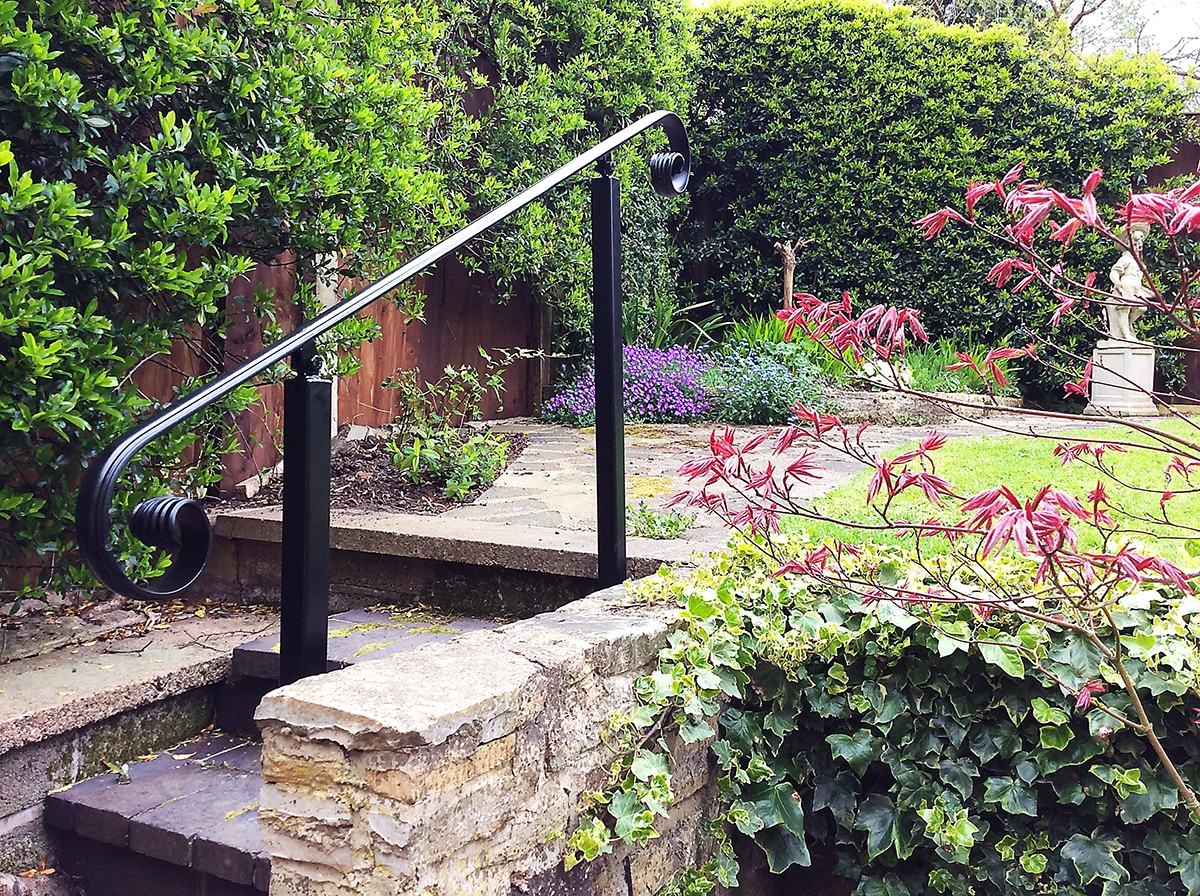 Wrought Iron Handrails Metal Handrails | Wrought Iron Railings For Outside Steps