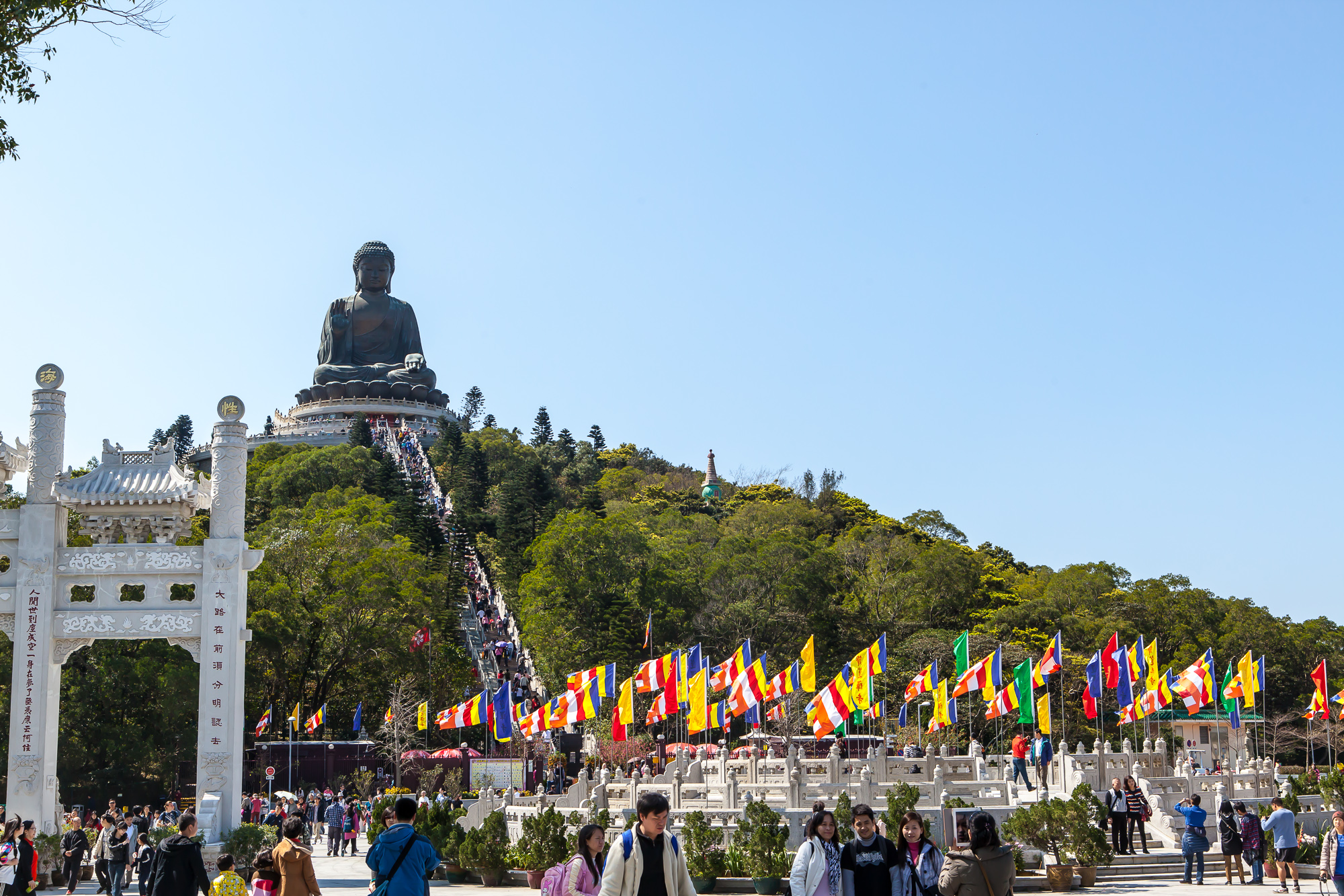 Hong Kong: Lantau, NGONG PING 360, Giant Buddha and Po Lin Monastery excursion