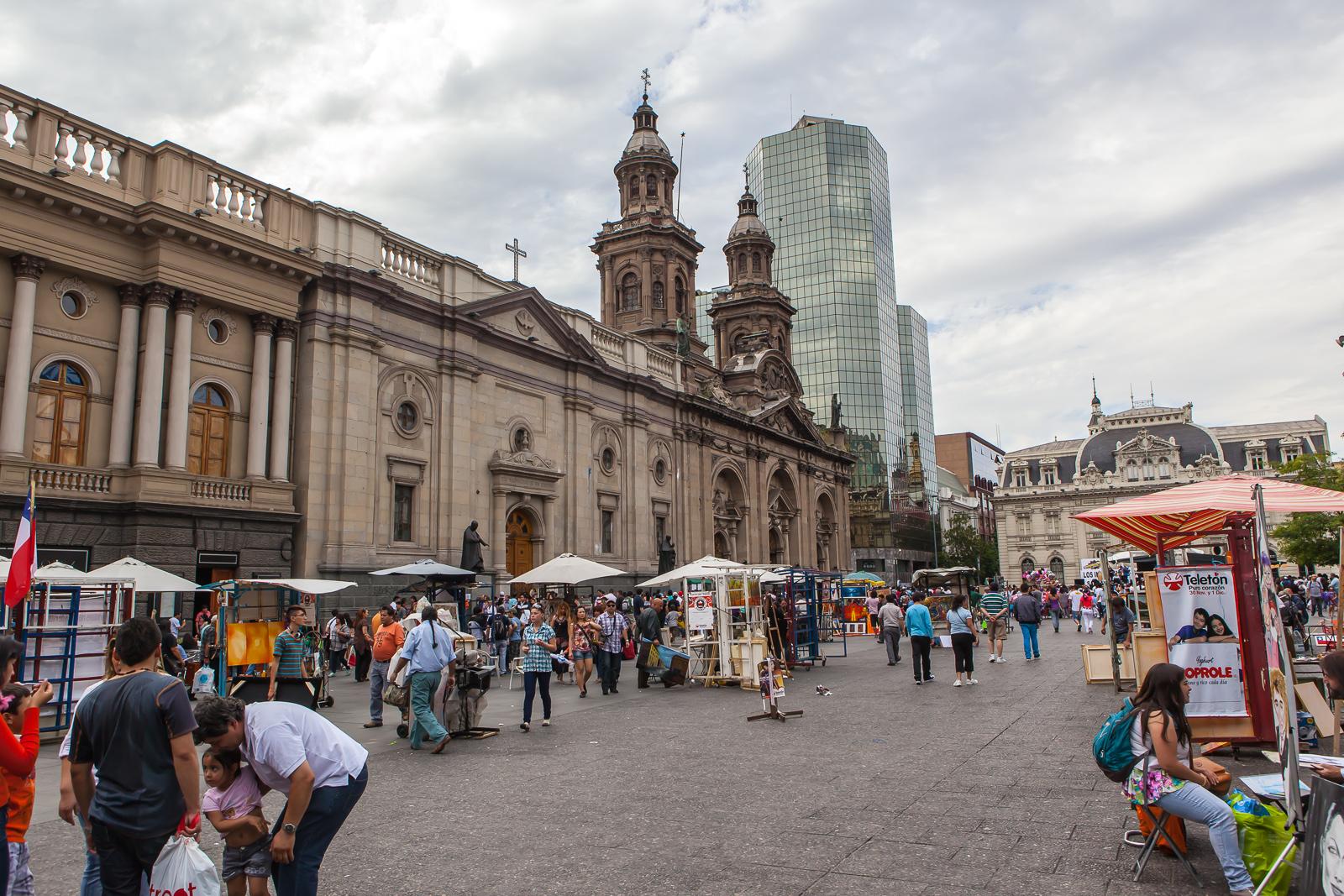 Visit in Santiago de Chile