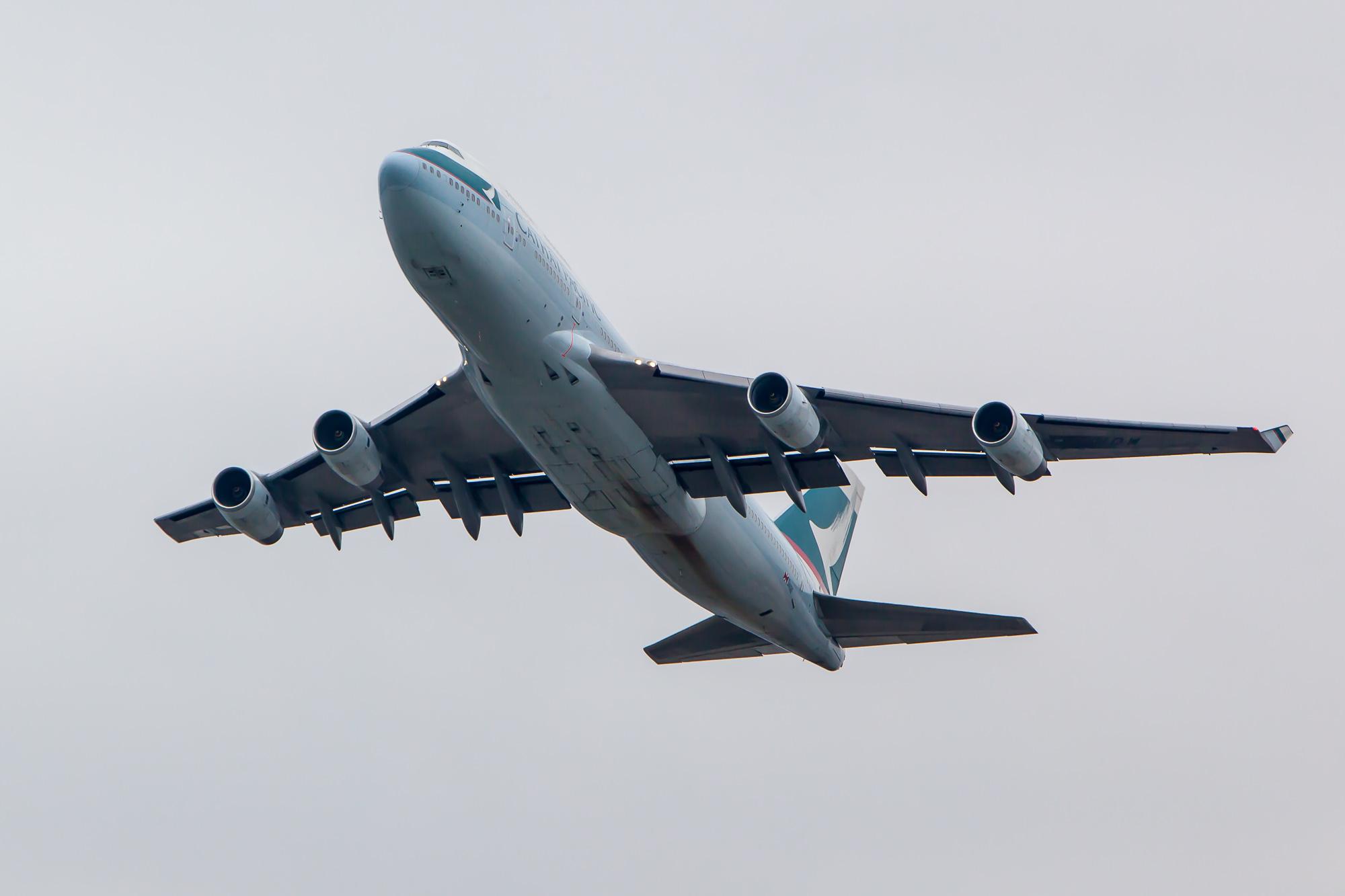 Plane Spotting in Hong Kong