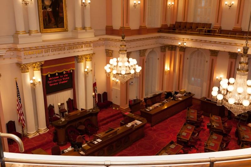 Capitol of California - Senate Chamber