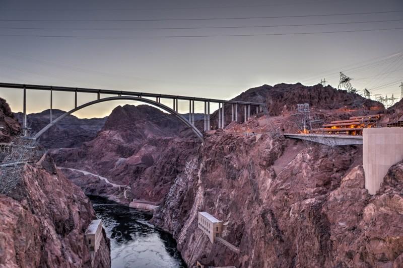 Hoover Dam Bridge 02
