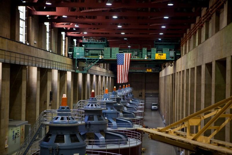 Hoover Dam Power House