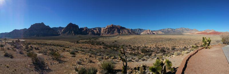 Red Rock Canyon Panorama