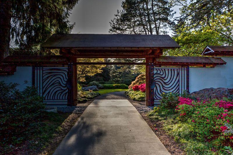Kubota Garden Entry Gate