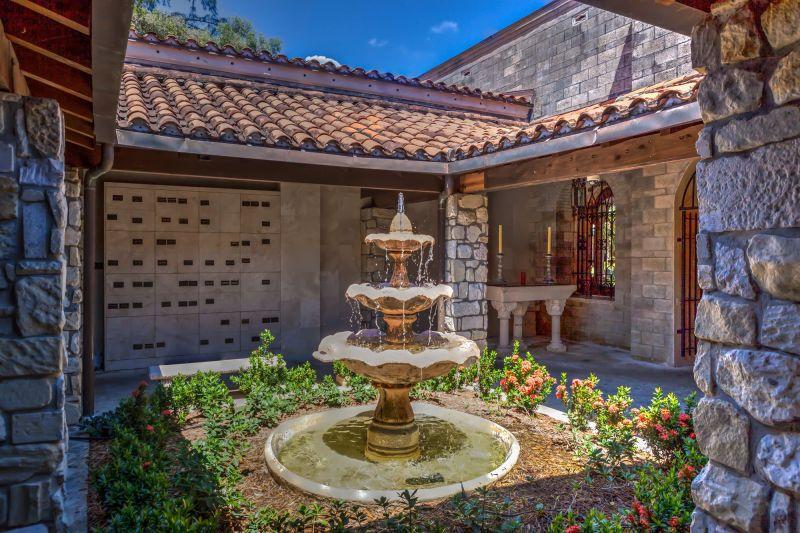 Fountain inside the monastery