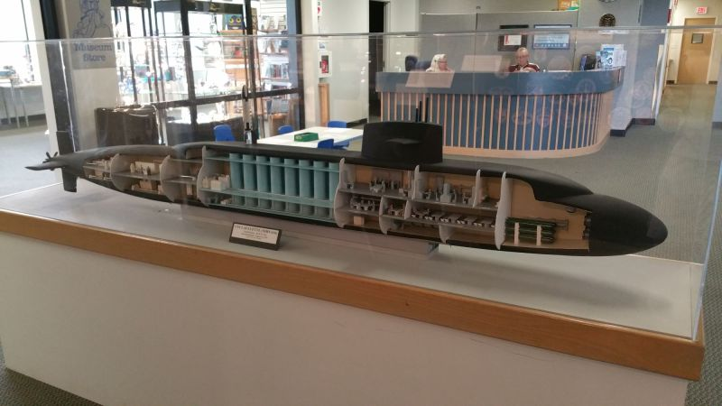 Model of the USS Lafayette