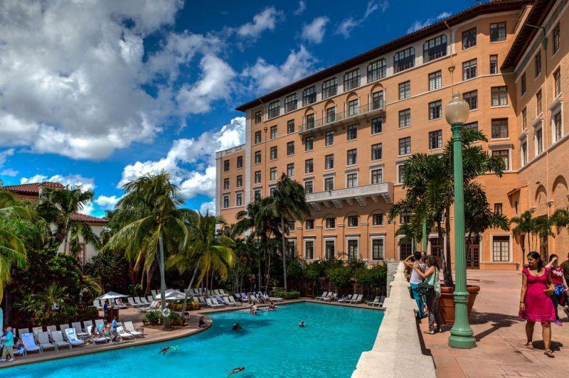Pool at the Biltmore Hotel