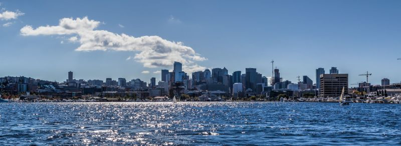 View of Seattle from Lake Union