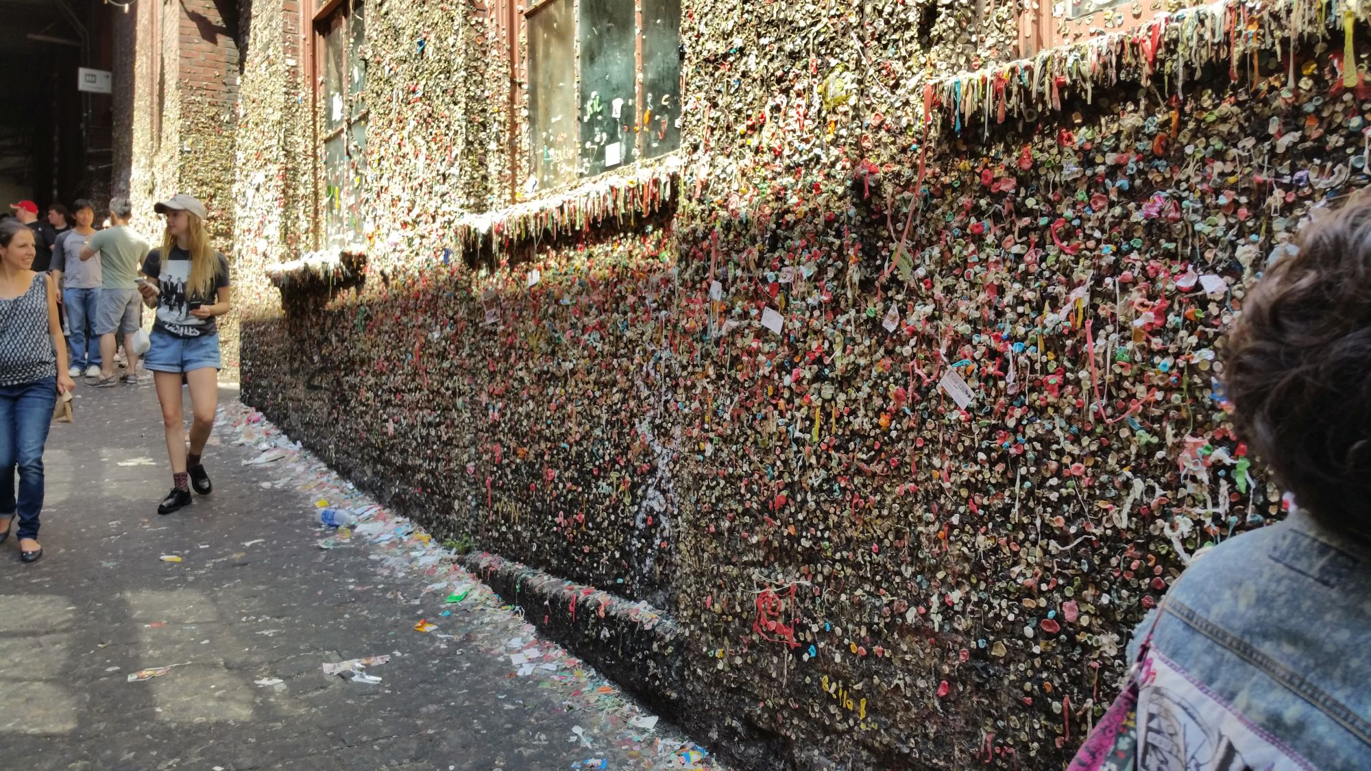 Seattle's Gum Wall gets a reboot