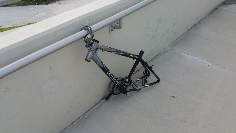Lonely Bike in MIA