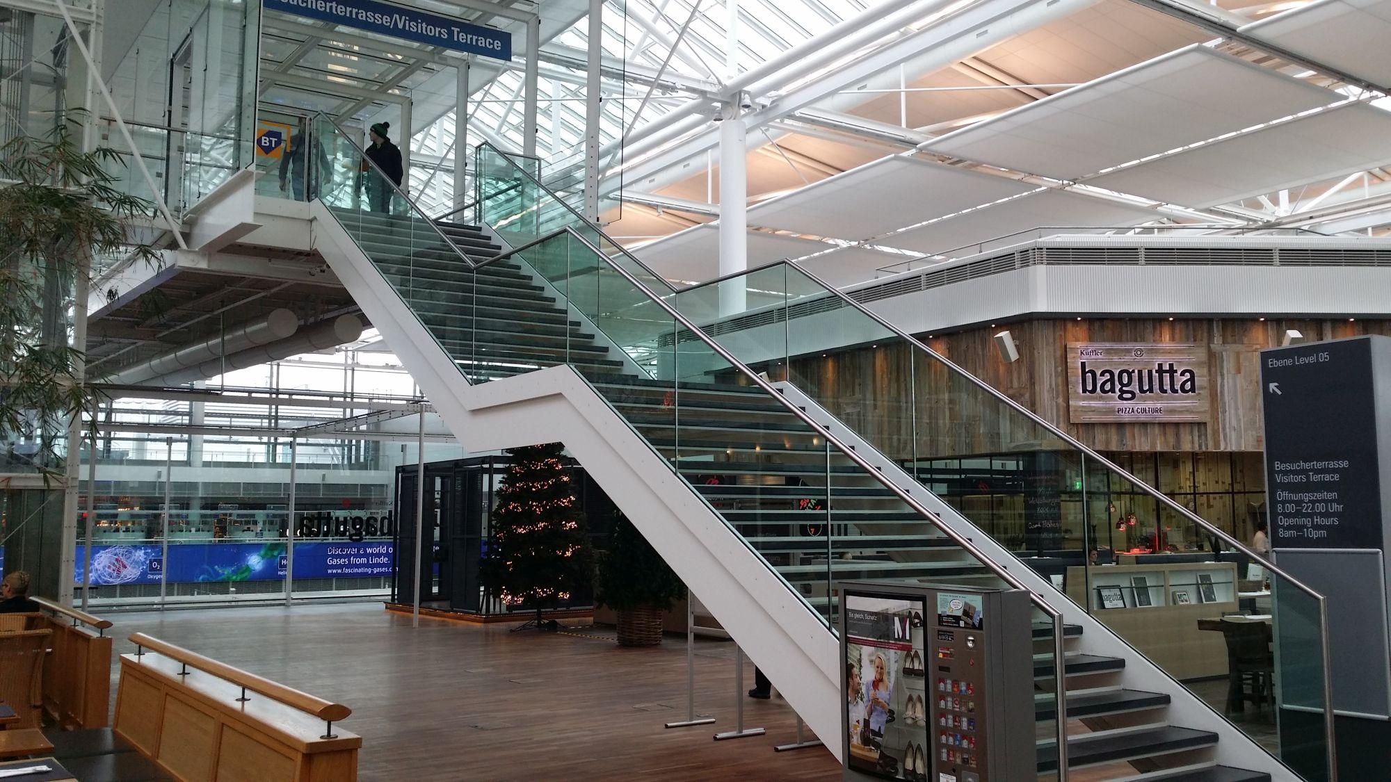 Munich Airport's Visitors Terrace