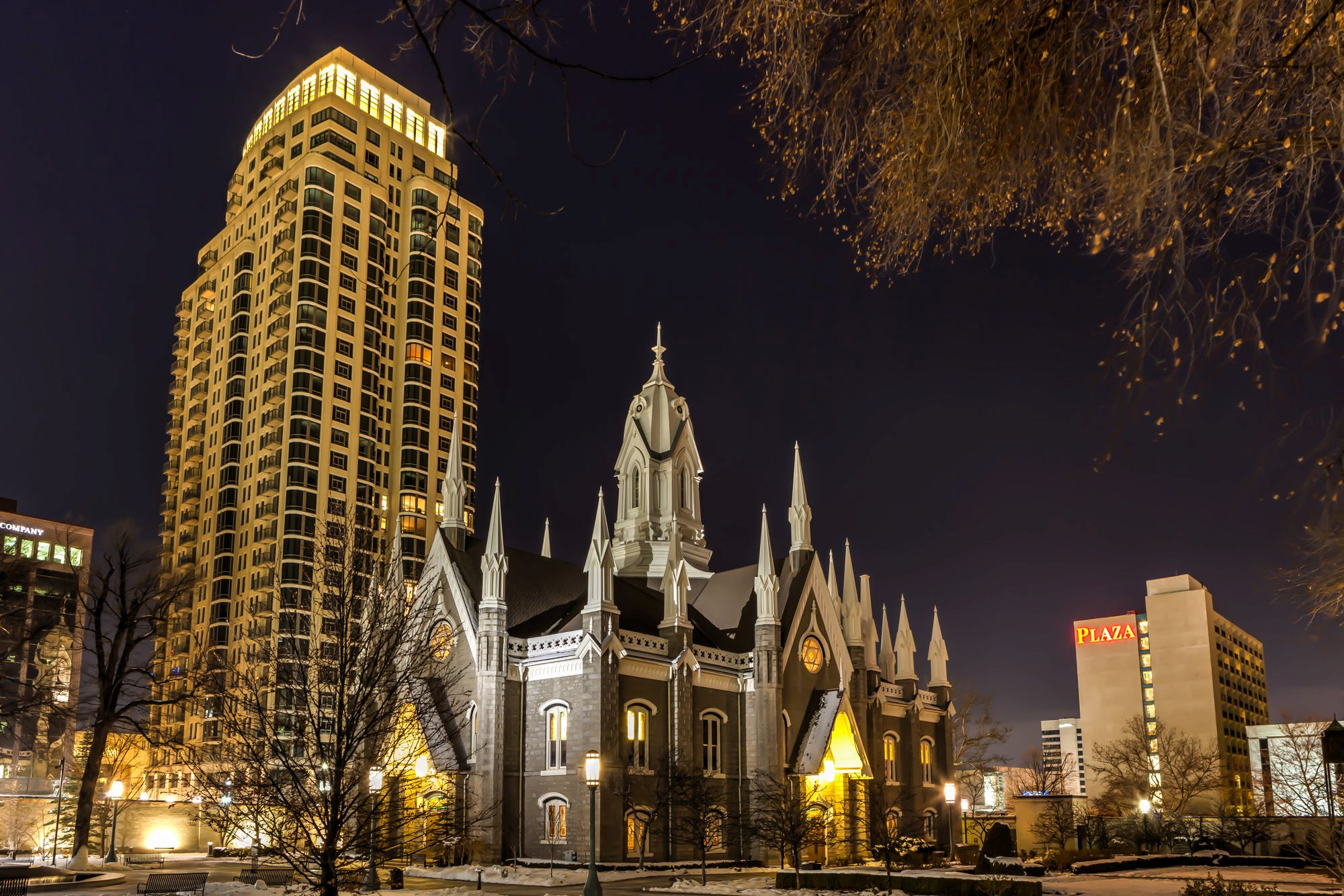 Temple Square and the History of Salt Lake City