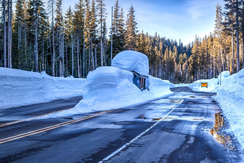 Entrance to Crater Lake National Park