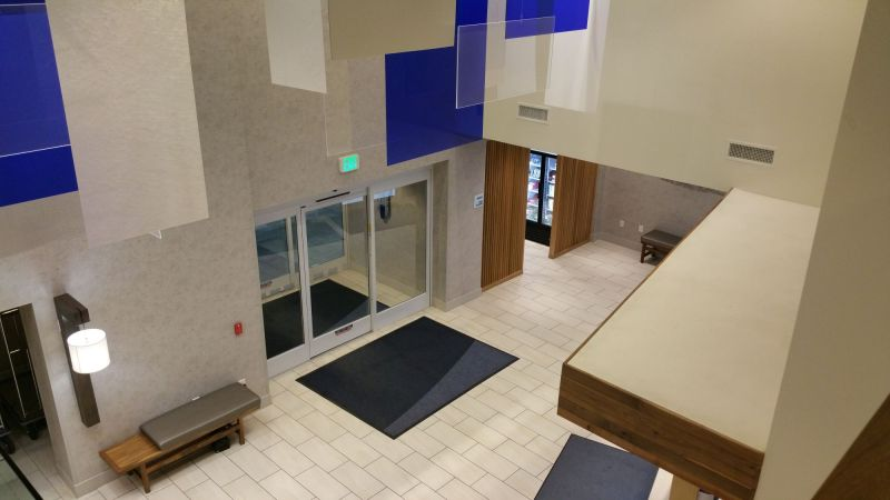 Lobby and second Main Entrance