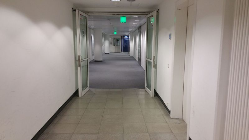 Hallway to the Lounge