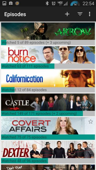TV Show Selection