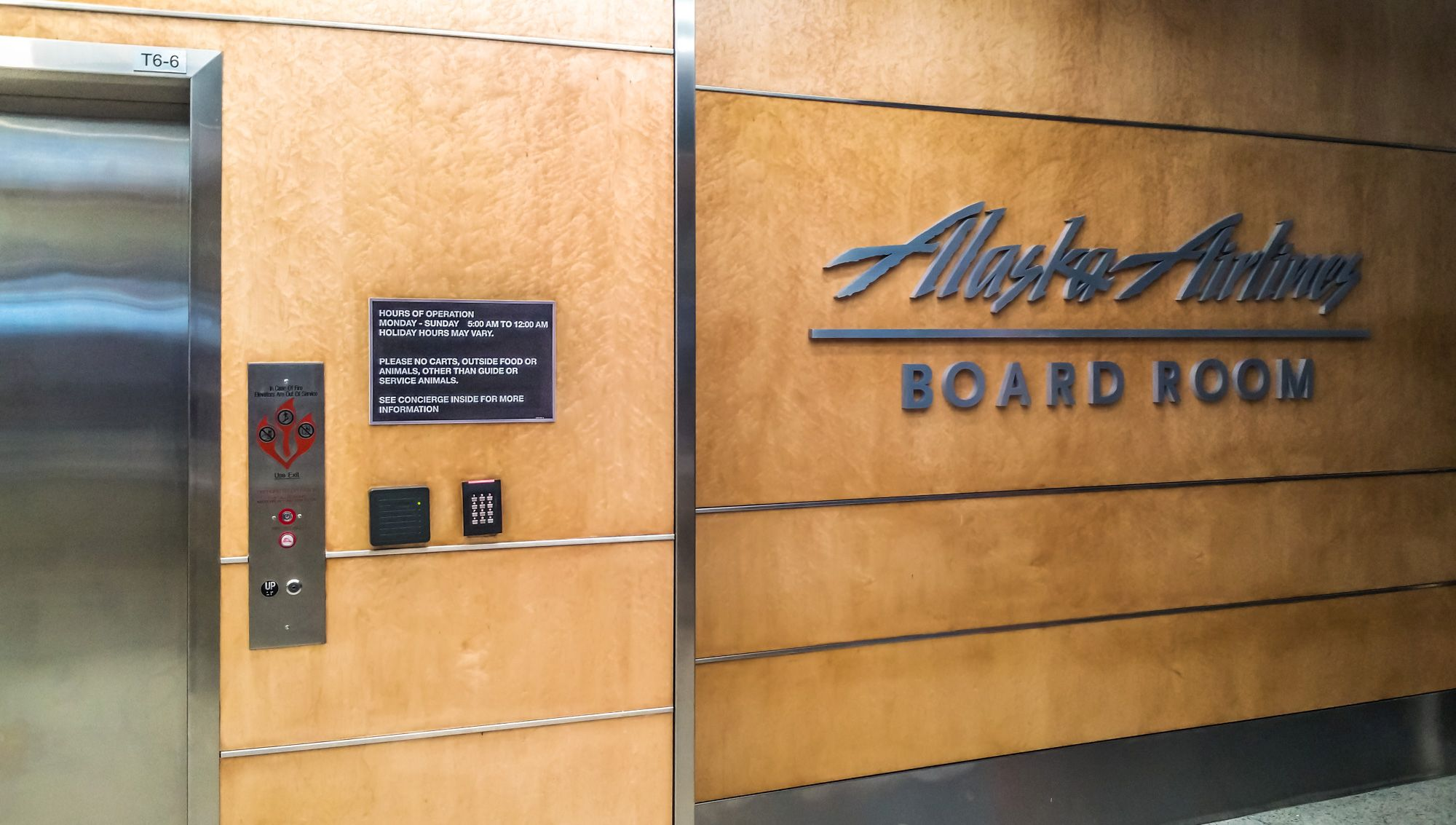 Travel Tip of the Week: The Hidden Ticket to Access AlaskaAir Board Rooms for Free