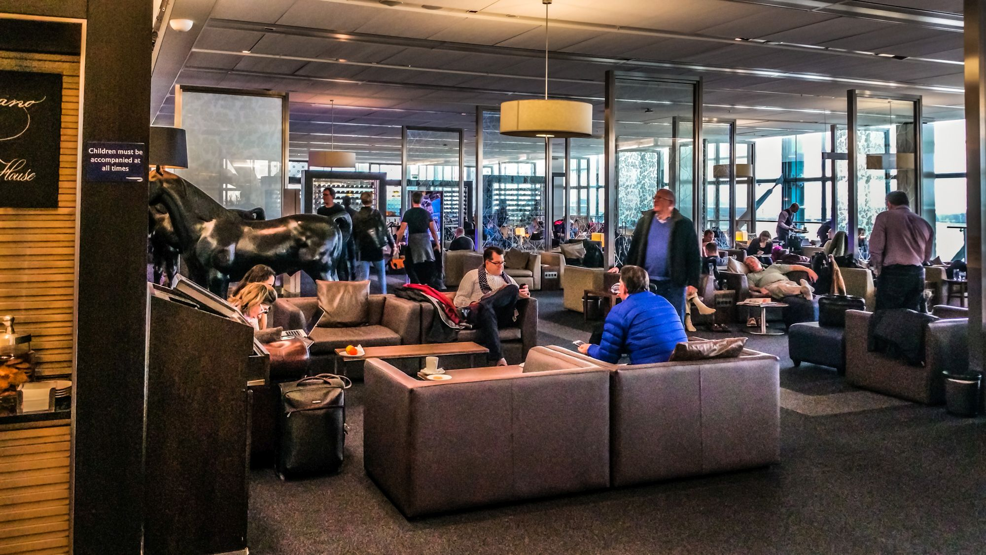 Lounge Review British Airways Galleries First Lounge