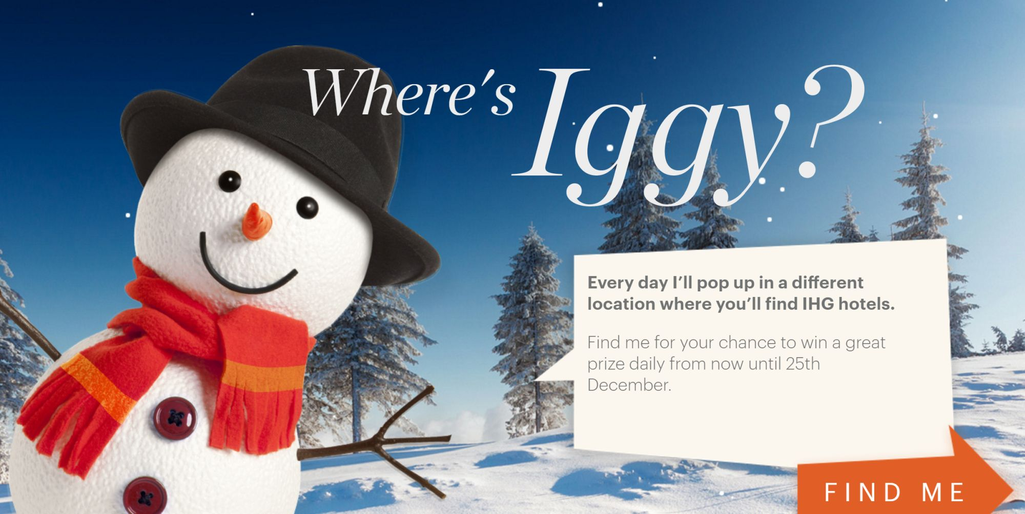 IHG Adventscalendar: Free 2500 Points and Other Prizes