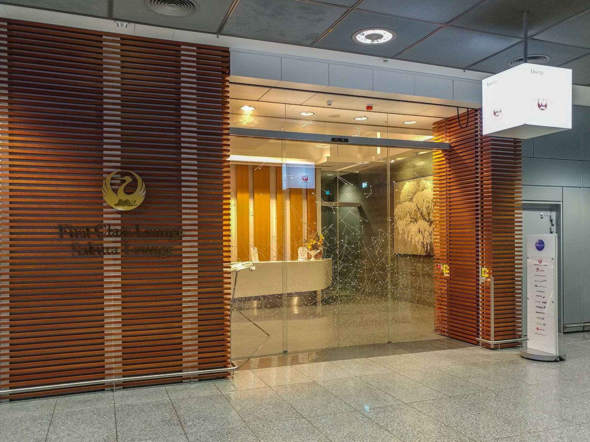 JAL First Class Lounge / Sakura Lounge Frankfurt (FRA)