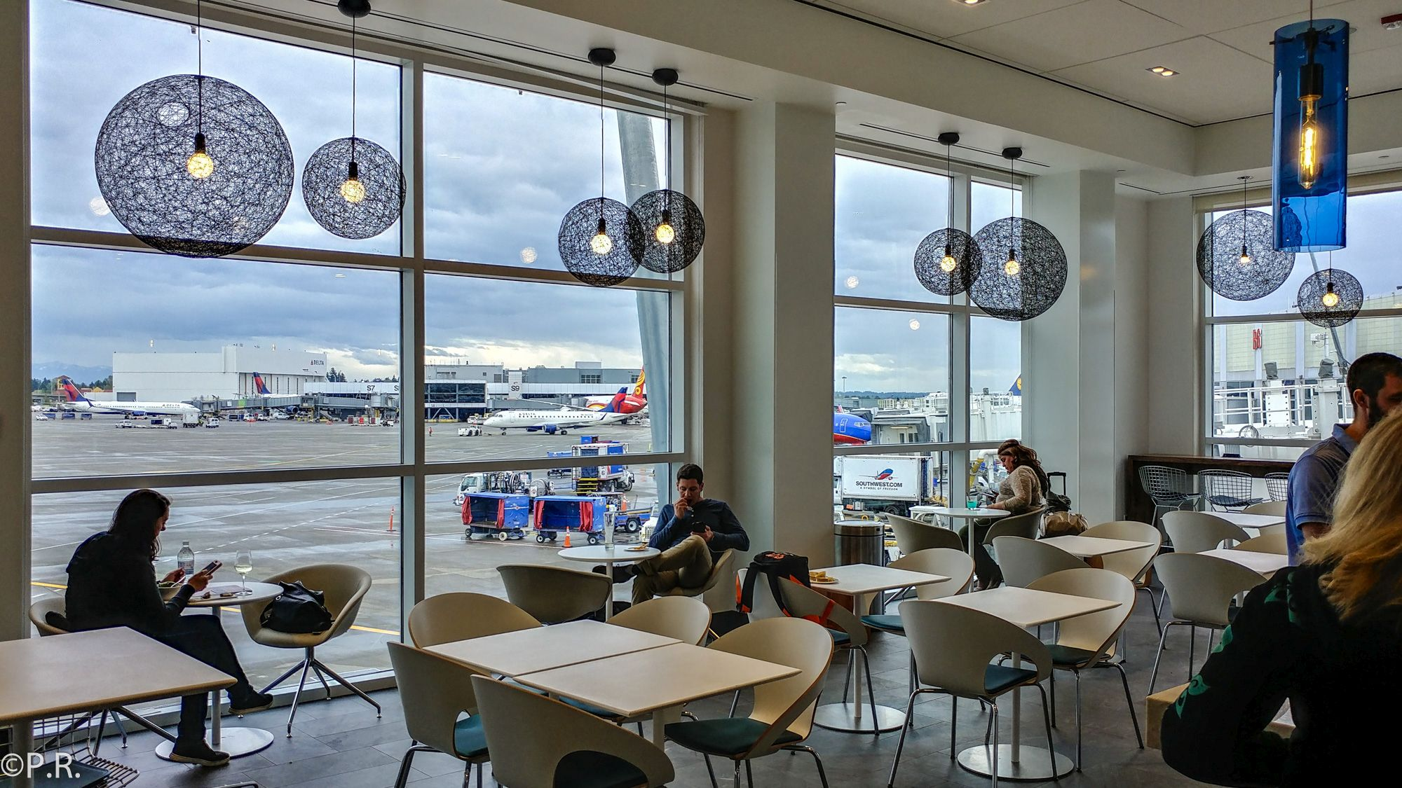 The New Updated American Express Centurion Studio at Sea-Tac