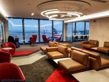 Lounge American Airlines Flagship Chicago
