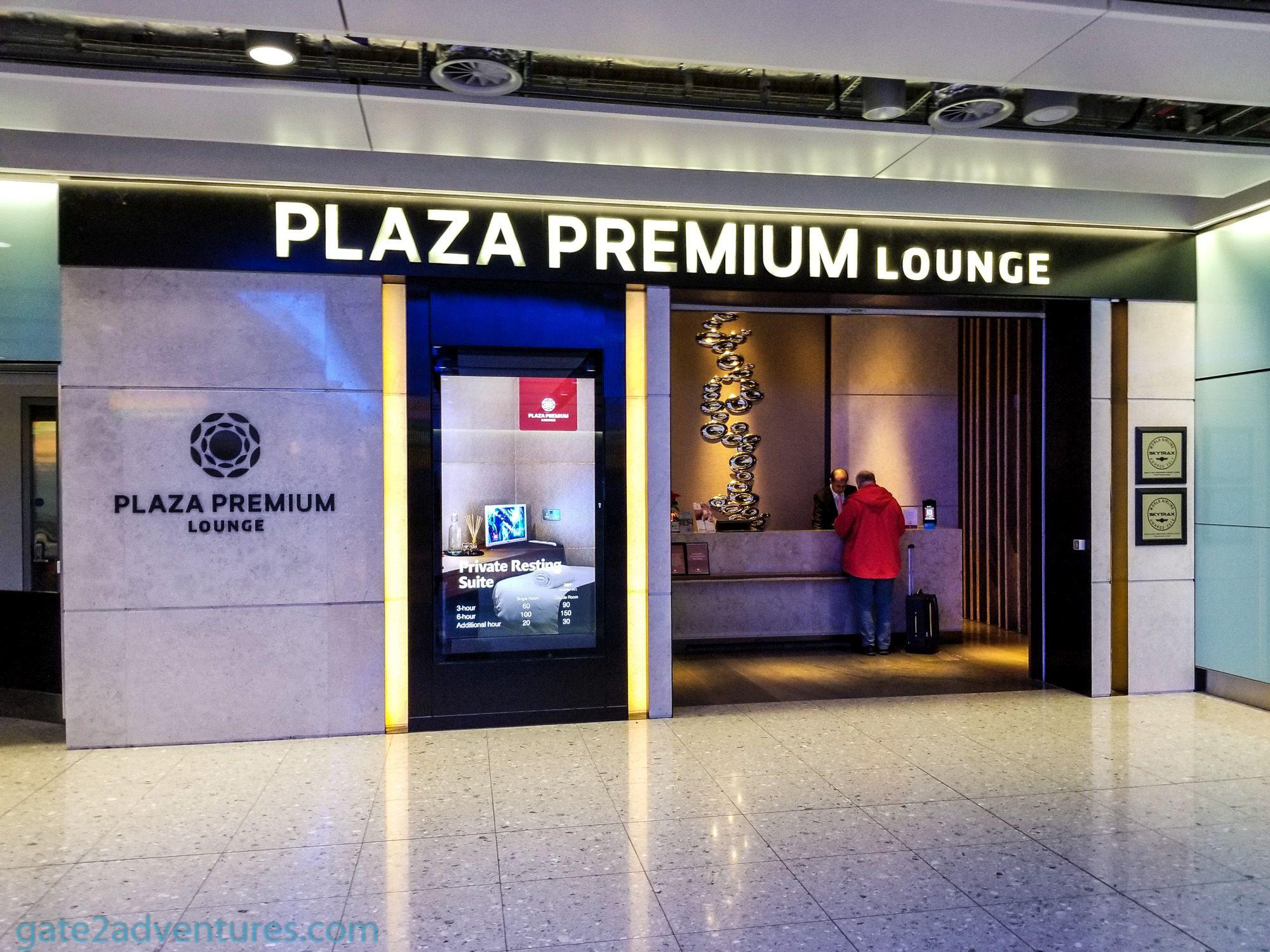 Plaza Premium Lounge London Heathrow Terminal 2 Departures (LHR)